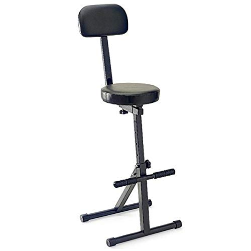 Stagg MT-300 BK Musicians Throneith Backrest from Stagg