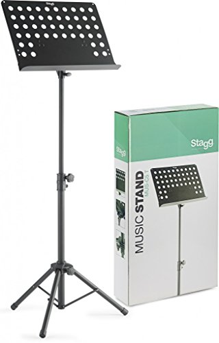 Stagg MUS-C5 T Orchestral Music Stand - Black from Stagg