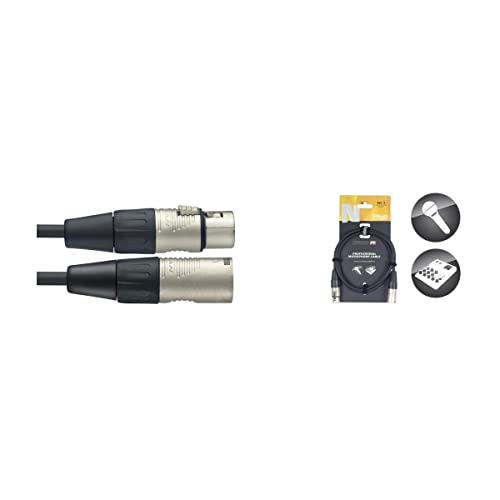 Stagg NMC10R 10m N-Series XLR Male to XLR Fenale Microphone Cable from Stagg