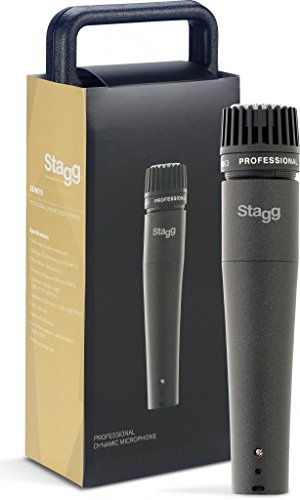 Stagg SDM70 Professional Multipurpose Cardioid Dynamic Microphone from Stagg