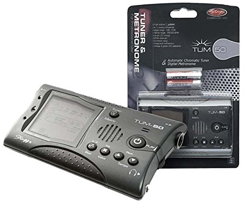 Stagg TUM-50DGH Tuner and Metronome - Dark Grey from Stagg