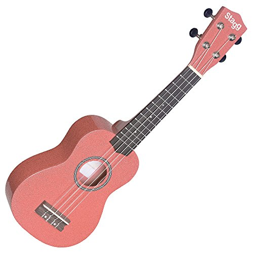 Stagg Traditional Soprano Ukulele - Red Lips from Stagg