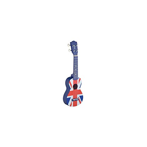Stagg Traditional Soprano Ukulele - UK Flag from Stagg