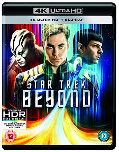 Star Trek Beyond (4K UHD Blu-ray + Blu-ray + Digital Download) [2016] [Region Free] from Paramount Home Entertainment