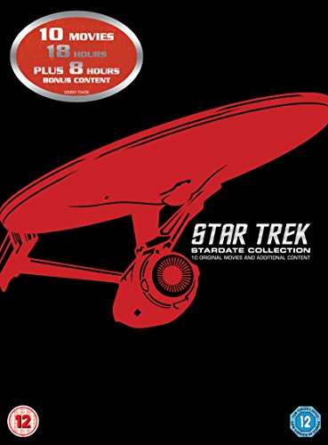 Star Trek: Stardate Collection - The Movies 1-10 (Remastered) [DVD] [1979] from Paramount Home Entertainment