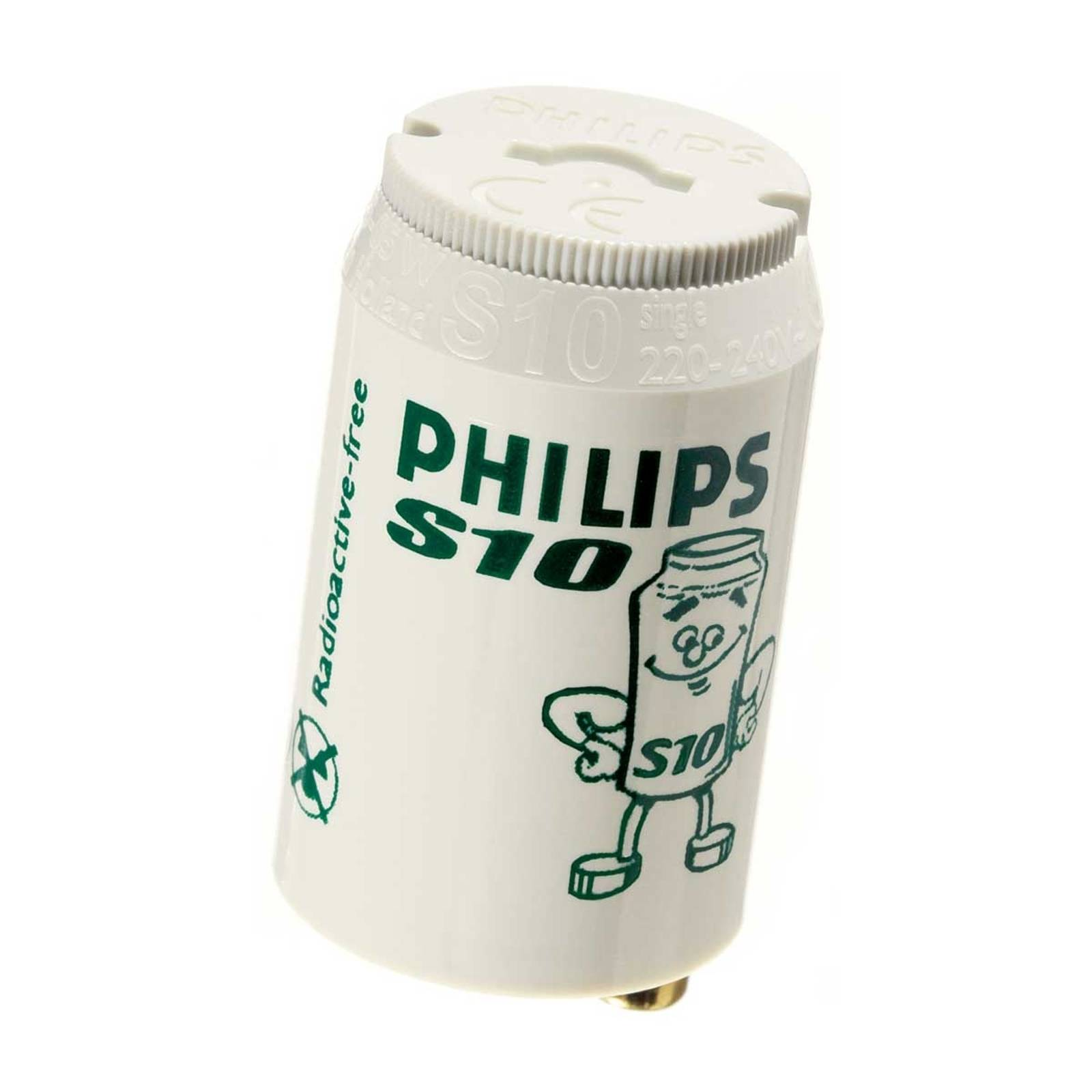 Starter for fluorescent bulbs S10 4-65W - Philips from Philips
