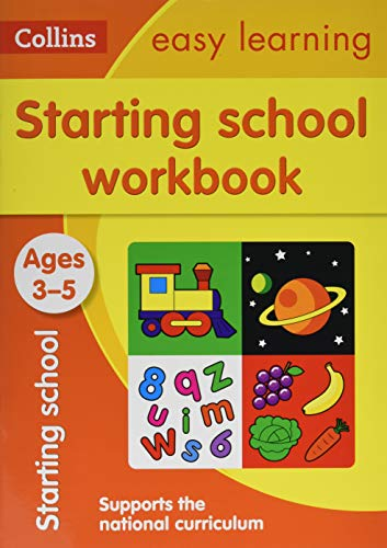 Starting School Workbook Ages 3-5: New Edition (Collins Easy Learning Preschool) from HarperCollins Publishers
