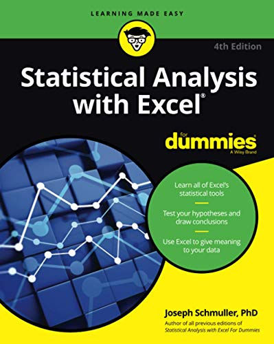 Statistical Analysis with Excel For Dummies, 4th Edition from For Dummies