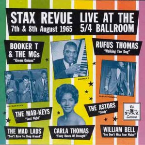 Stax Revue Live at the 54 Ballroom from Various