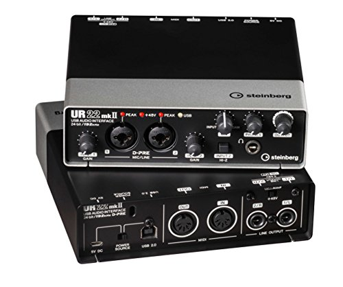 Steinberg UR22 MKII USB Audio Interface with iPad Support from Steinberg
