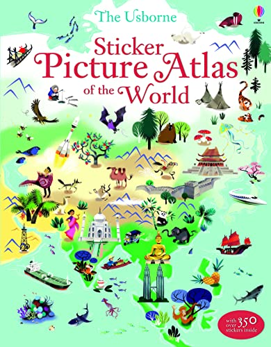 Sticker Picture Atlas of the World (Sticker Books) from Usborne Publishing Ltd