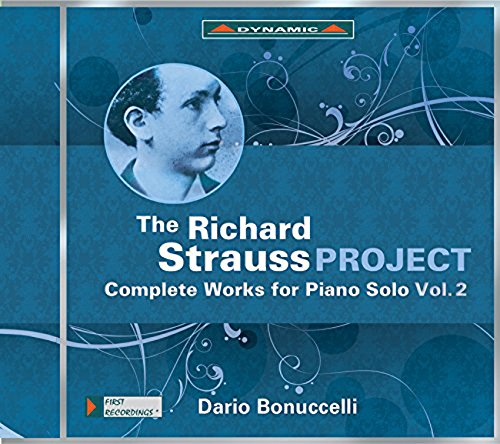 Strauss:Caomplete Piano 2 [Dario Bonuccelli] [Dynamic: CDS7748] from DYNAMIC