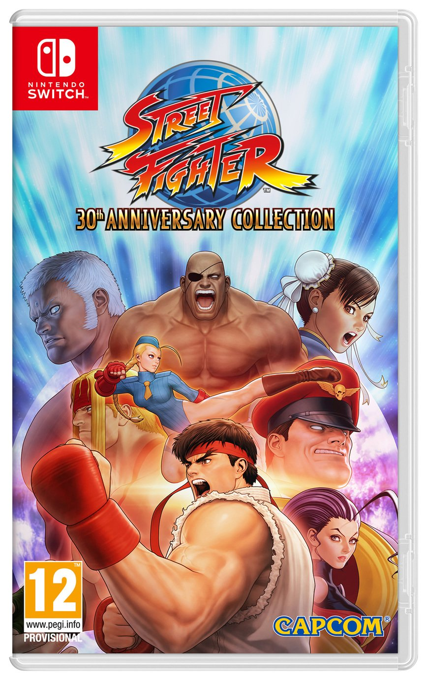 Street Fighter 30th Anniversary Edition Nintendo Switch Game from Street Fighter