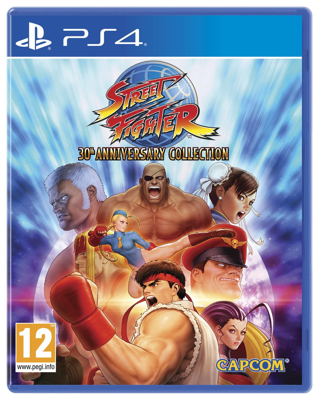 Street Fighter 30th Anniversary Edition PS4 Game from Street Fighter