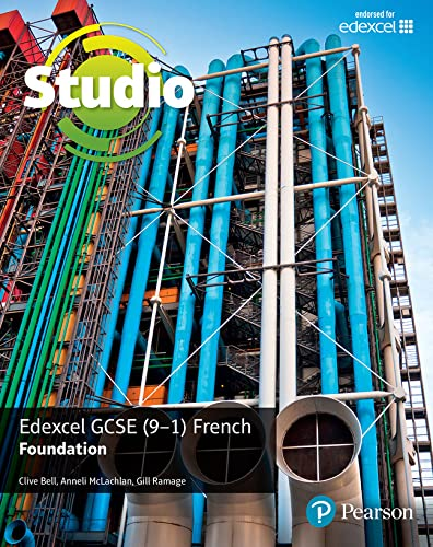 Edexcel GCSE (9–1) French Foundation (Studio Edexcel GCSE French) from Pearson Education Limited