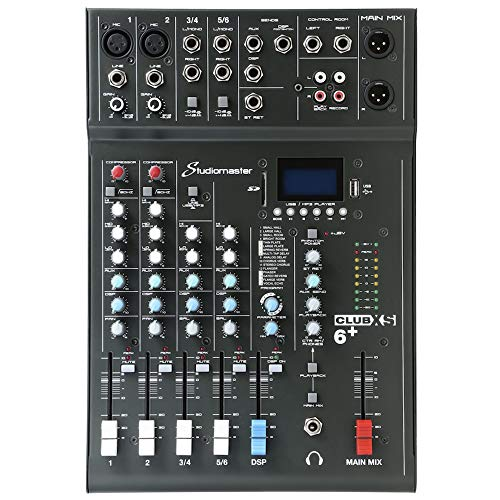 Studiomaster Club XS-6 6 Channel Mixer from Studiomaster