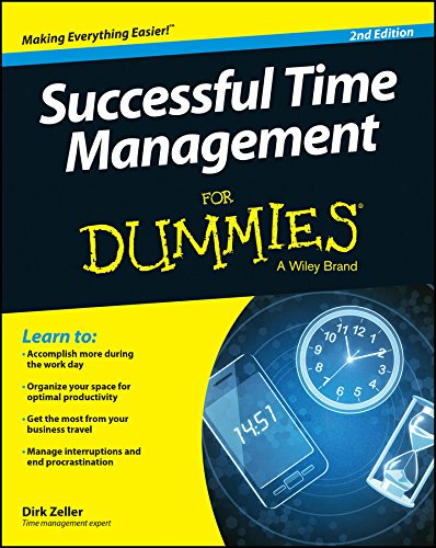Successful Time Management For Dummies from For Dummies