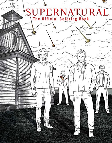 Supernatural: The Official Coloring Book from Insight Editions