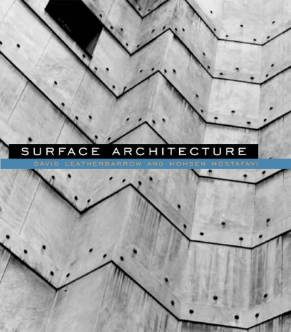 Surface Architecture from MIT Press