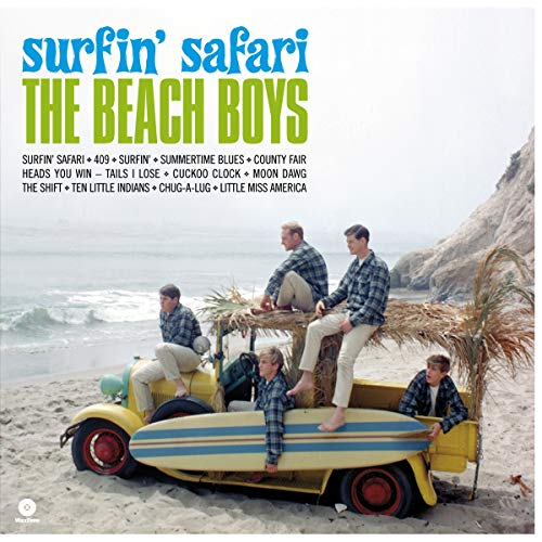 Surfin` Safari ( Debut Album ) + 1 Bonus Track [VINYL] from WAX TIME RECORDS