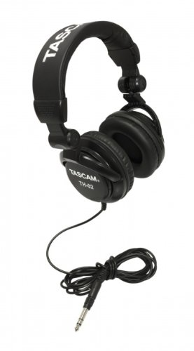 Tascam TH-02 - Stereo headphones from TASCAM