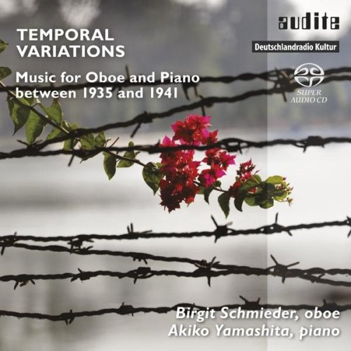 TEMPORAL VARIATIONS: MUSIC FOR OBOE AND PIANO BETWEEN 1935 AND 1941 from AUDITE