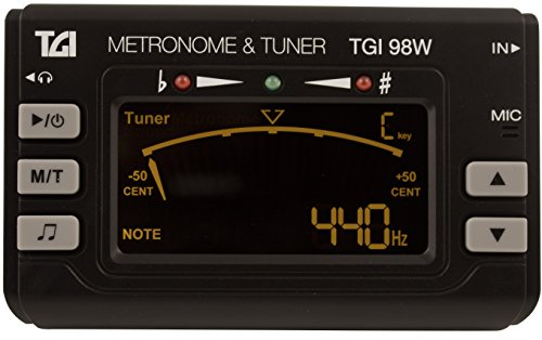 TGI TGI98W Woodwind and Brass Clip on Tuner with Metronome from TGI