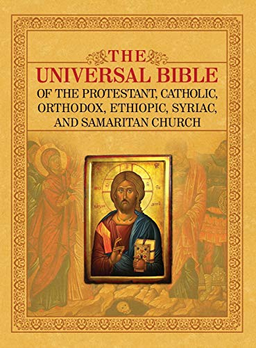 THE UNIVERSAL BIBLE OF THE PROTESTANT, CATHOLIC, ORTHODOX,  ETHIOPIC, SYRIAC, AND SAMARITAN CHURCH from Fifth Estate