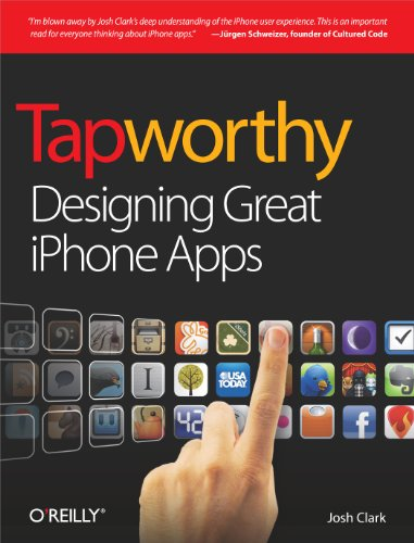 Tapworthy: Designing Great iPhone Apps from O'Reilly Media