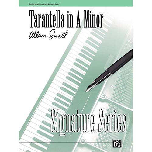 Tarantella in A Minor Sheet from Alfred Music Publications
