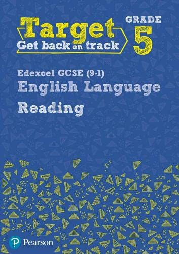 Target Grade 5 Reading Edexcel GCSE (9-1) English Language Workbook (Intervention English) from Pearson