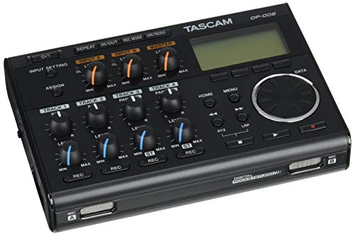 Tascam DP-006 - 6-Track Digital Pocketstudio from TASCAM
