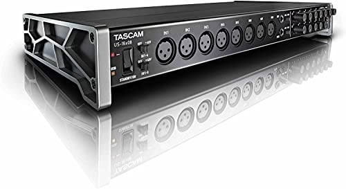 Tascam US-16x08 – USB Audio/MIDI Interface (16 in/8 out) from TASCAM