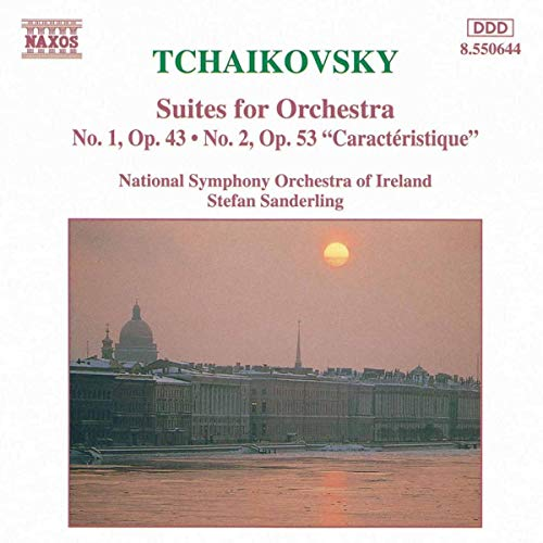 Tchaikovsky - Suites for Orchestra 1 & 2 from NAXOS