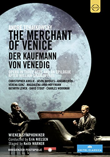 Tchaikowsky: Merchant Of Venice [Richard Angas, Christopher Ainslie, Charles Workman] [DVD] [2014] [NTSC] from EuroArts