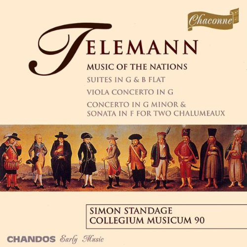 Telemann: Music of the Nations - suites; concerti & sonata