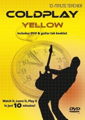 Ten Minute Teacher - Coldplay - Yellow [DVD] from Music Sales