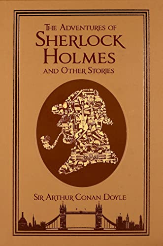 The Adventures of Sherlock Holmes and Other Stories (Leather-bound Classics) from KLO80