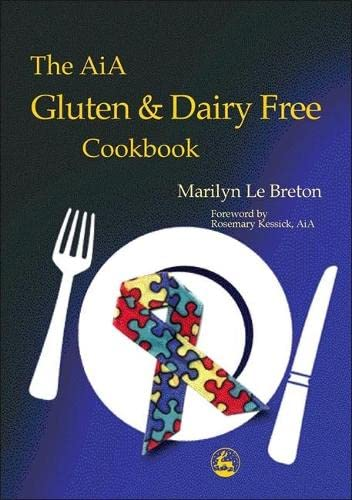 The AiA Gluten and Dairy Free Cookbook from Jessica Kingsley Publishers