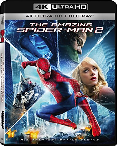The Amazing Spider-Man 2 (4K Ultra HD + Blu-ray) from Sony Pictures Home Entertainment