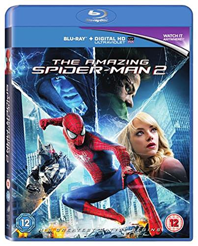 The Amazing Spider-Man 2 [Blu-ray] [2014] [Region Free] from Sony Pictures Home Entertainment