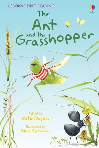 The Ant and the Grasshopper (Usborne First Reading: Level 1) from Usborne Publishing Ltd
