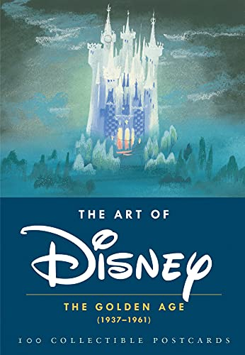 The Art of Disney: The Golden Age (1937-1961) (Postcards) from Chronicle Books