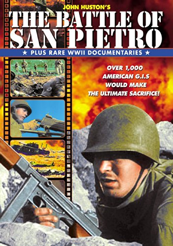 The Battle Of San Pietro (Plus Rare WWII Documentaries) (DVD-R) (1945) (All Regions) (NTSC) (US Import) [1954] [Region 1] from Alpha Video