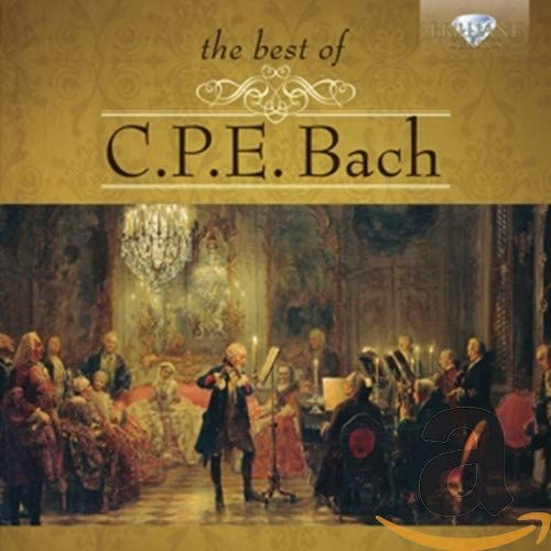 The Best of C.P.E. Bach from BRILLIANT CLASSICS