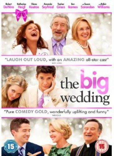 The Big Wedding [DVD] from Lionsgate