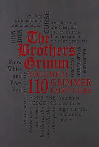 The Brothers Grimm Volume 2: 110 Grimmer Fairy Tales (Word Cloud Classics) from KLO80