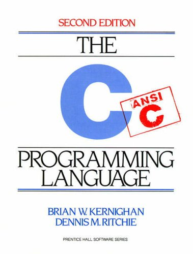 The  C Programming Language (2nd Edition) from Prentice Hall
