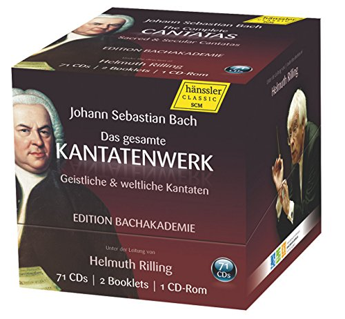 The Complete Cantatas (Special Edition) from HANSSLER CLASSIC