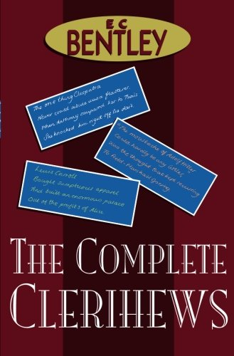 The Complete Clerihews from House of Stratus